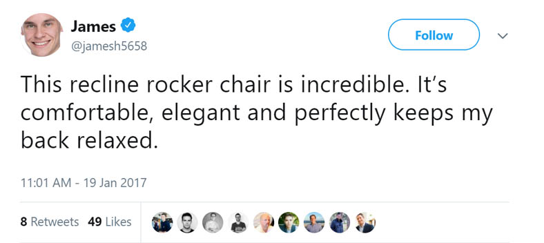 Recliners Quote