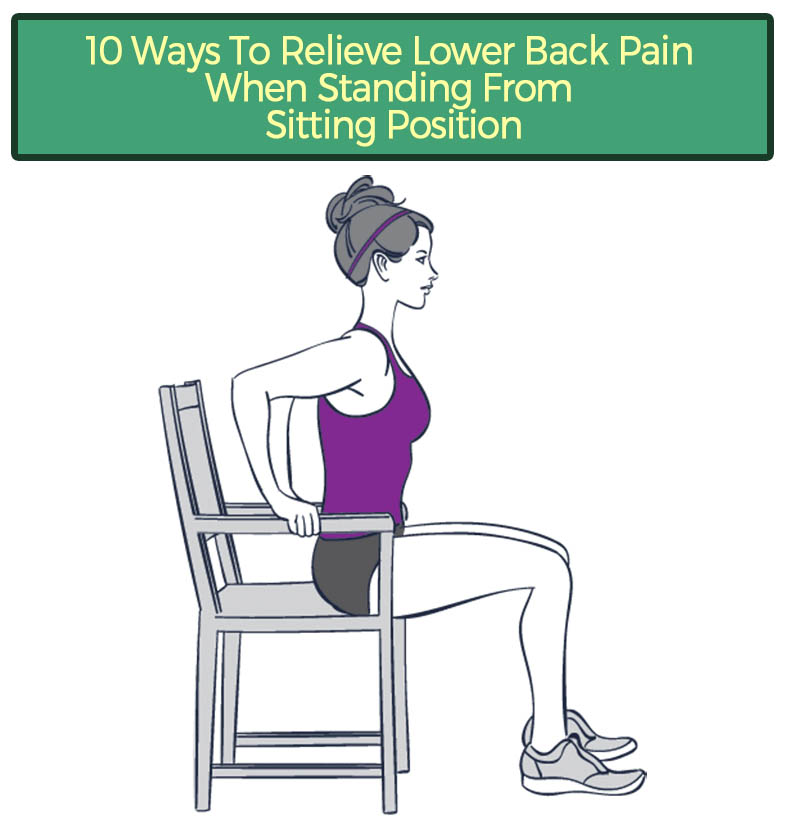 10 Ways To Relieve Lower Back Pain When Standing From Sitting Position