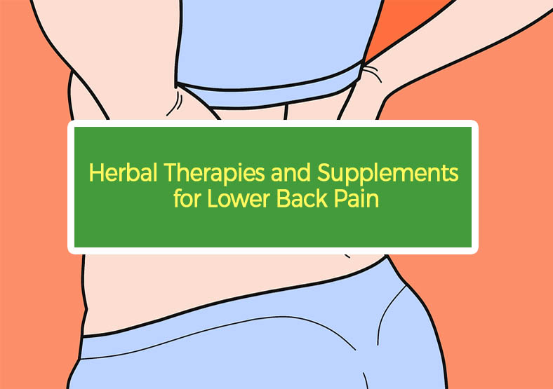 Herbal Therapies and Supplements for Lower Back Pain